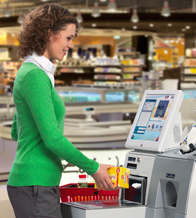 Self-Checkout mit WincorNixdorf