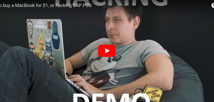 Video zum SAP-POS-Hack