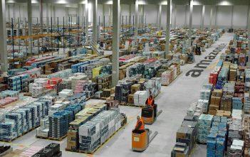 Vollbeschäftigung bei Amazon in Leipzig